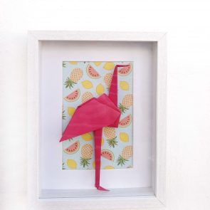 DECORACIÓN CUADROS BORN TO BE WILD Flamingo