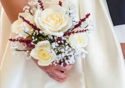 Boda perfecta ramo de flores de papel