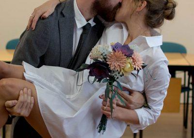 ramo de flores de papal para novia