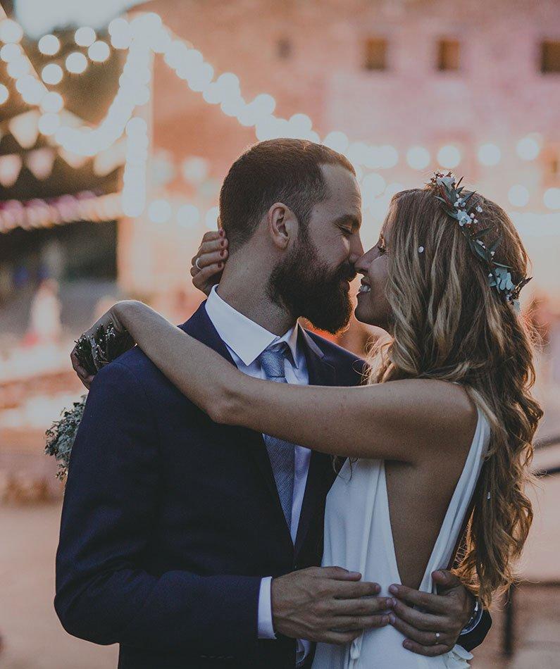 boda perfecta tocado papel