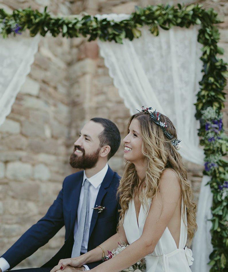 boda perfecta corona de papel